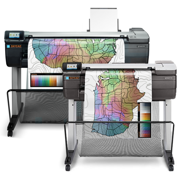 Daycad U00ae  U2013 Hp Designjet T830 Multifunction Printers F9a28a