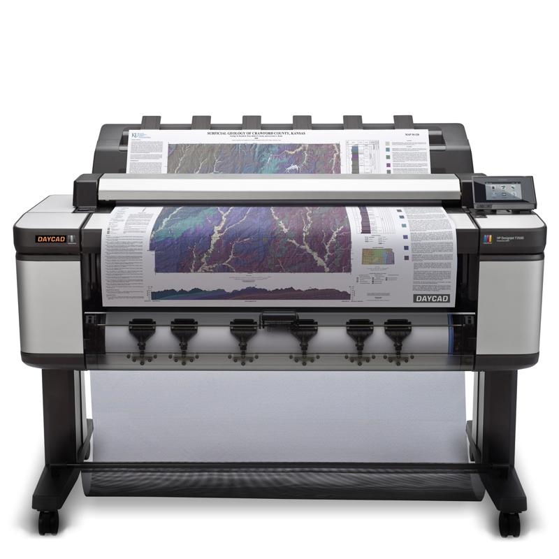 Daycad U00ae  U2013 Hp Designjet T3500 Production Multifunction Printer 36 U0026quot  B9e24a
