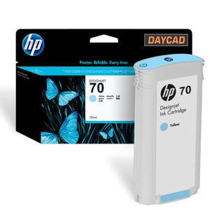 C9390A HP 70 Light Cyan Ink Cartridge