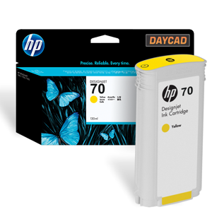 C9454A HP 70 Yellow Ink Cartr