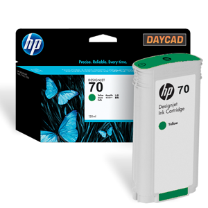 C9457A HP 70 Green Ink Cartridge