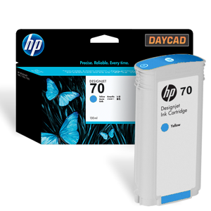 C9458A HP 70 Blue Ink Cartridge