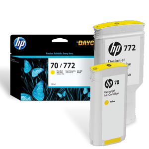 HP 70 772 yellow