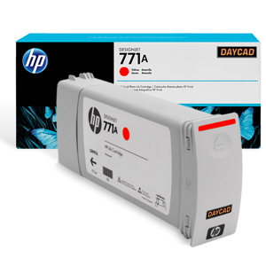 HP 771A 775-ml Chromatic Red Designjet Ink Cartridge (B6Y16A)