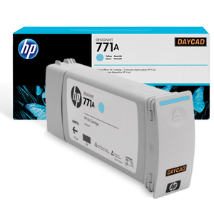 HP 771A 775-ml Light Cyan Designjet Ink Cartridge (B6Y20A)