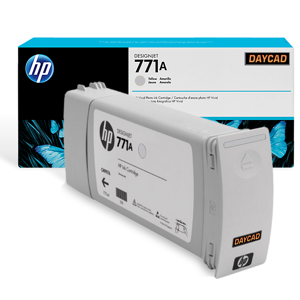 HP 771A 775-ml Light Gray Designjet Ink Cartridge (B6Y22A)