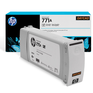 HP 771A 775-ml Photo Black Designjet Ink Cartridge (B6Y21A)