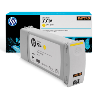 HP 771A 775-ml Yellow Designjet Ink Cartridge (B6Y18A)