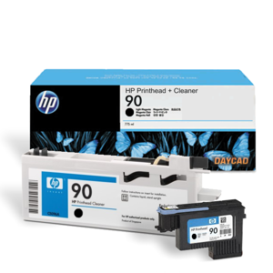 HP 90 Black Printhead and Printhead Cleaner (C5054A)