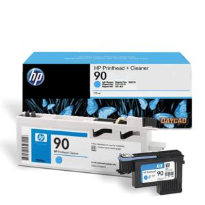 HP 90 Cyan Printhead and Printhead Cleaner (C5055A)