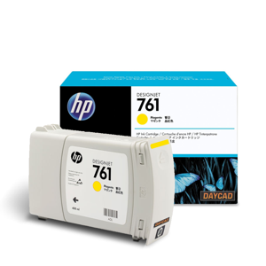 CM992A HP 761 400-ml Yellow Designjet Ink Cartridge