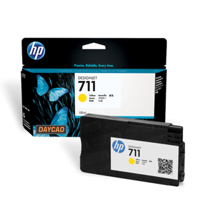 HP 711 29-ml Yellow Ink Cartridge (CZ132A)