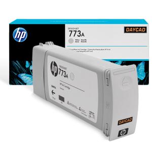 HP 773A 775 ml Light Gray Designjet Ink Cartridge C1Q28A