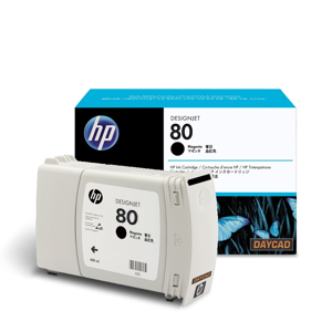 HP 80 350-ml Black Ink Cartridge (C4871A)