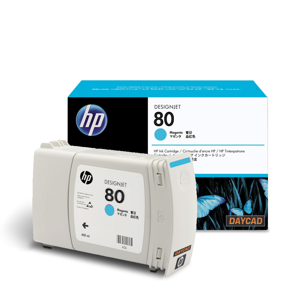 HP 80 Cyan Ink Cartridge