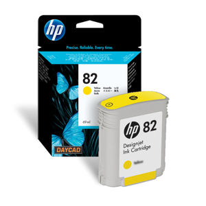 HP 82 69-ml Yellow Ink Cartridge (C4913A)