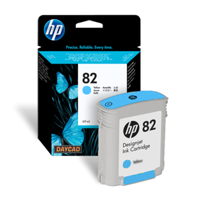 HP No. 82 Ink Cartridge - Cyan