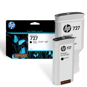 C1Q12A HP 727 300-ml Matte Black DesignJet Ink Cartridge
