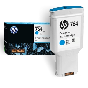 HP 764 300-ml Cyan DesignJet Ink Cartridge C1Q13A