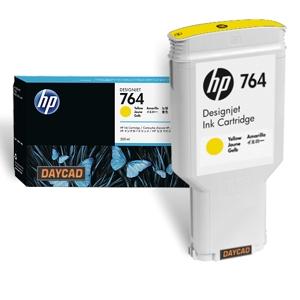 HP 764 300-ml Yellow DesignJet Ink Cartridge C1Q15A