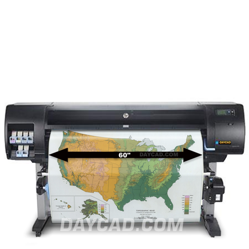 Daycad U00ae  U2013 Hp Designjet Z6600 Production Printers F2s71a