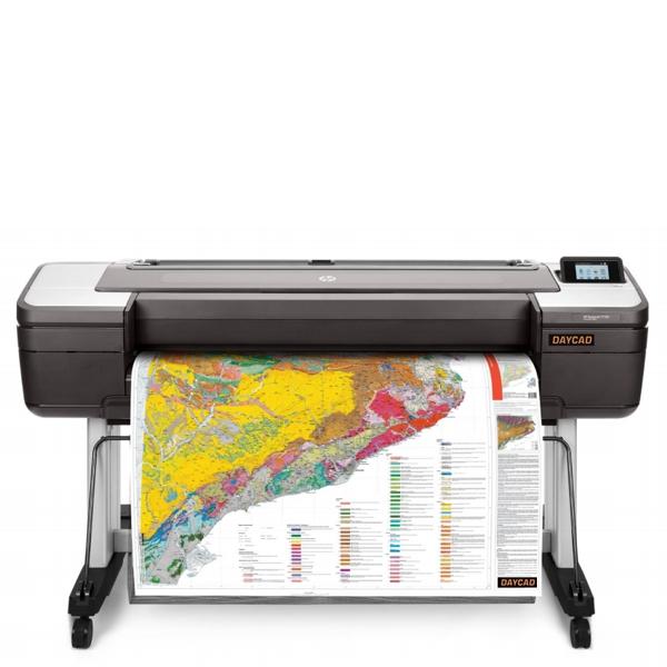 Daycad U00ae  U2013 Hp Designjet T1700 Printers 1vd87a